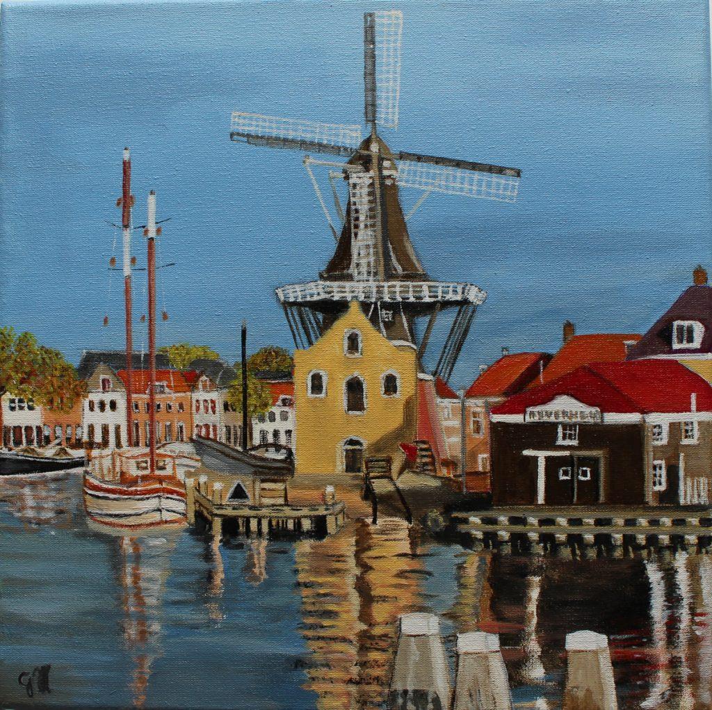 Molen de Adriaan te Haarlem