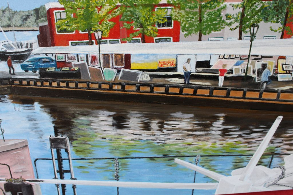Kunstmarkt Spaarndam - Detail